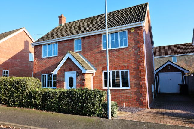 Thumbnail Detached house for sale in Wavell Road, Dereham