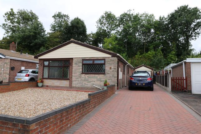 Thumbnail Detached bungalow for sale in Monkton Close, Dresdon, Stoke-On-Trent