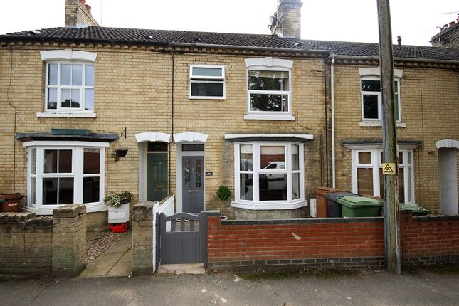 Thumbnail Terraced house for sale in Irchester Road, Wollaston, Wellingborough, Northamptonshire.