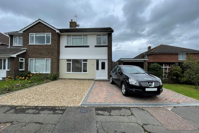 Thumbnail Semi-detached house to rent in The Thatchings, Polegate