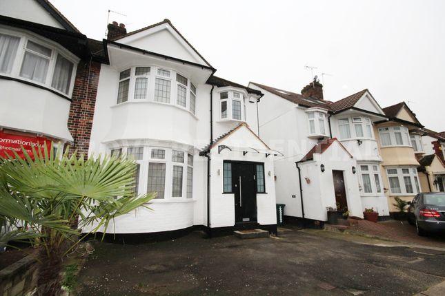 Thumbnail Semi-detached house for sale in Brook Avenue, Edgware, Edgware