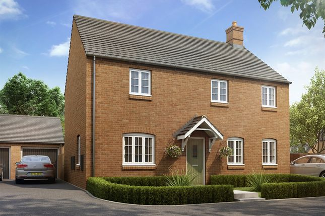 "Thumbnail Detached house for sale in ""The Halse Bay"" at Heathencote, Towcester"
