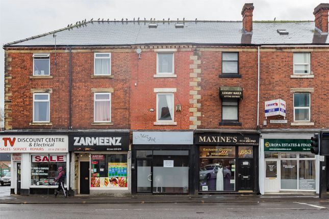 Thumbnail Retail premises for sale in Queens Road, Sheffield