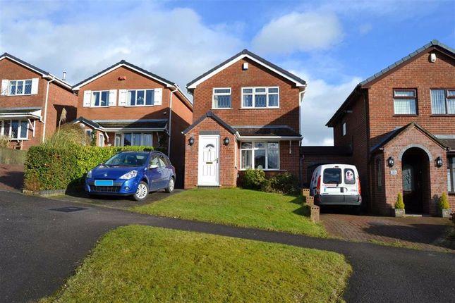 Thumbnail Detached house to rent in Hazlehurst Drive, Cheddleton, Leek