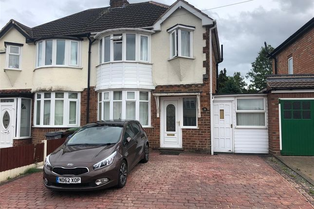 Thumbnail Semi-detached house to rent in Valley Road, Solihull, Solihull