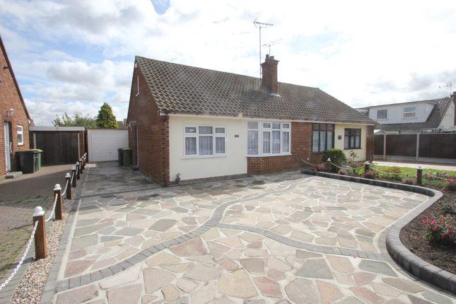 Thumbnail Semi-detached bungalow for sale in Parklands, Ashingdon, Rochford