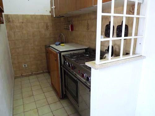Kitchen of Via Pitagora, Scalea, Calabria, Italy