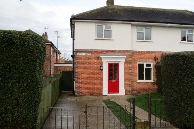 Thumbnail Semi-detached house to rent in Court Road, Hampden Park, Eastbourne