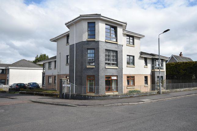 Thumbnail Flat for sale in Shieldhill Court, Carluke