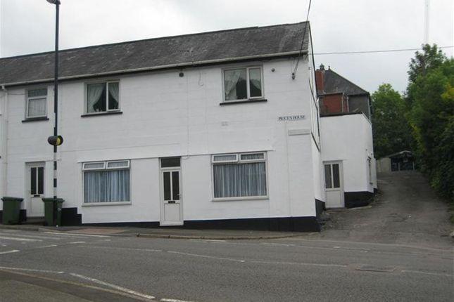 Thumbnail Flat to rent in High Street, Abercarn, Newport