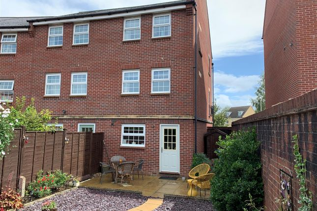 Thumbnail Town house for sale in Streamside, Tuffley, Gloucester