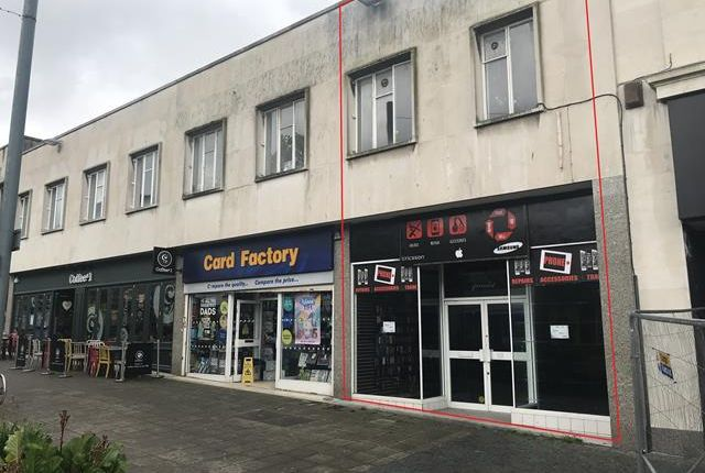 Thumbnail Retail premises to let in 31 Cornwall Street, Plymouth, Devon