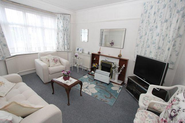 Lounge of Wyre Grove, Edgware, Greater London. HA8