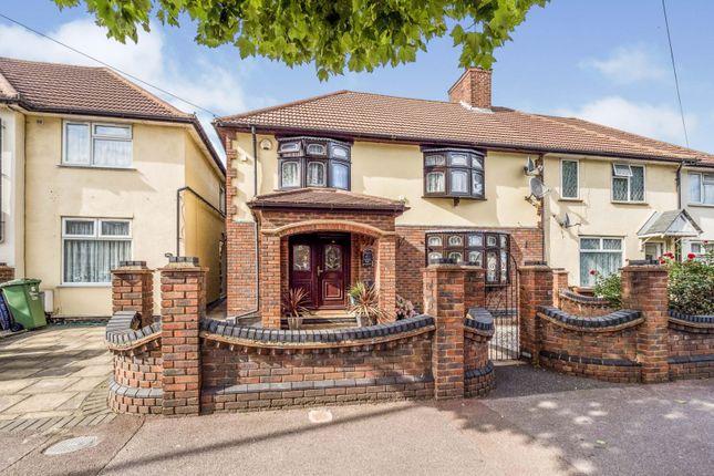 Thumbnail Semi-detached house for sale in Oxlow Lane, Dagenham