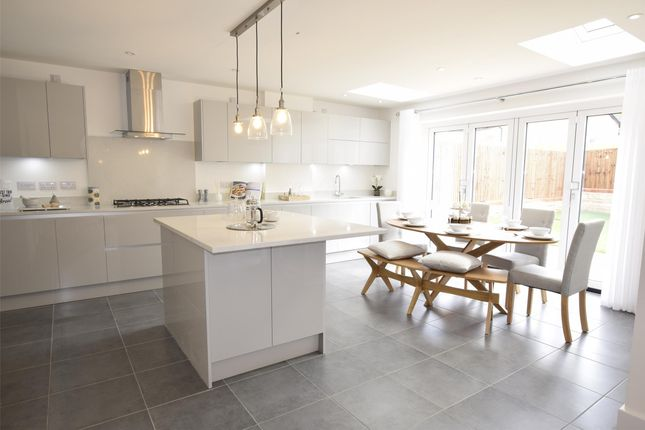 Thumbnail Detached house for sale in The Cheddar Show Home, The Chestnuts, Winscombe, Somerset
