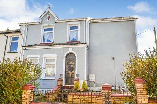 Thumbnail End terrace house for sale in Tredegar Road, Ebbw Vale, Blaenau Gwent