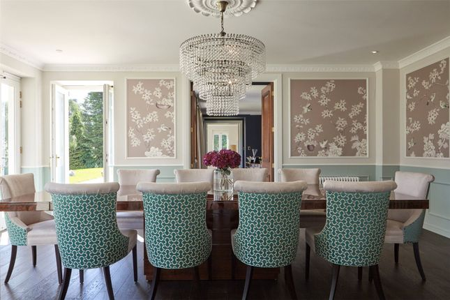 Dining Room of Woodlands Road West, Virginia Water, Surrey GU25