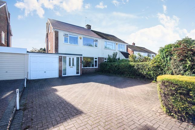 Thumbnail Semi-detached house for sale in Kenilworth Road, Cubbington, Leamington Spa