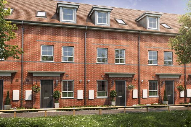 "Thumbnail Terraced house for sale in ""Norbury"" at High Street, Felixstowe"
