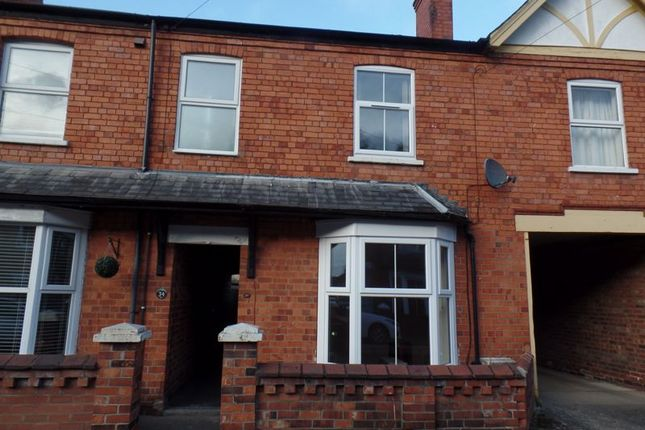 2 bed terraced house to rent in Cecil Street, Lincoln LN1