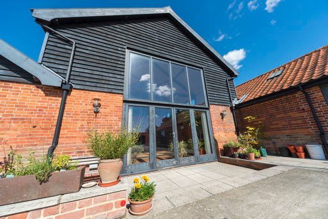 Thumbnail Barn conversion for sale in Little Green, Burgate, Diss