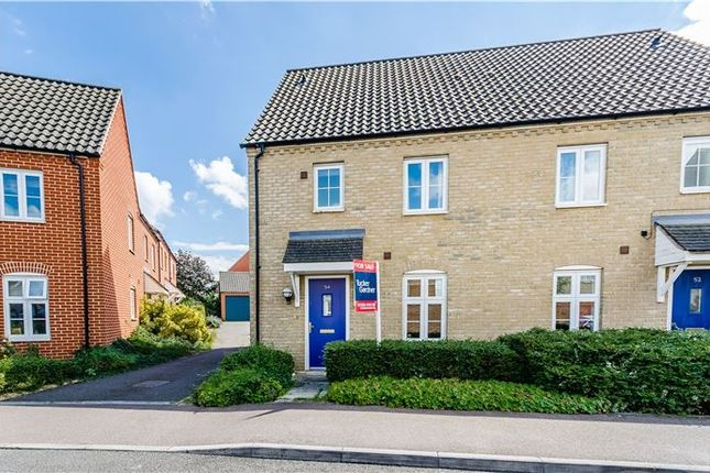 3 bed semi-detached house for sale in Morley Drive, Ely
