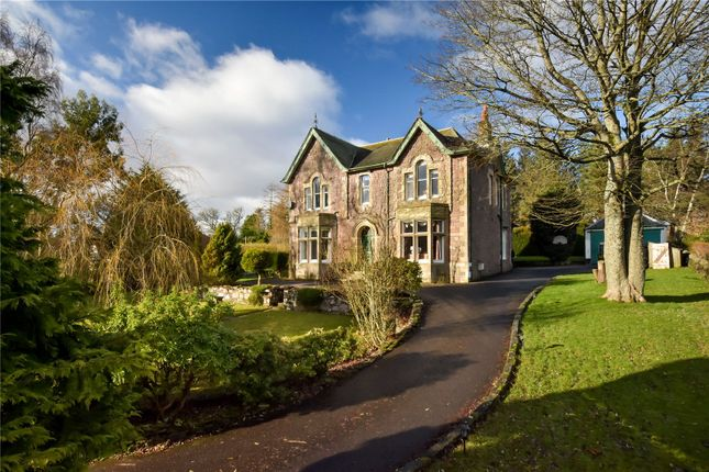 Thumbnail Detached house for sale in Beneira, Western Road, Auchterarder, Perthshire