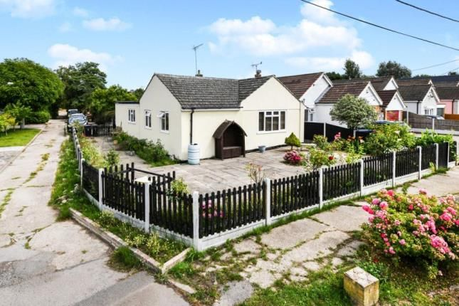 Thumbnail Bungalow for sale in Hullbridge, Hockley, Essex
