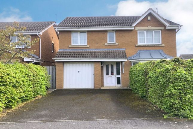 Thumbnail Detached house for sale in Huby Court, Guisborough