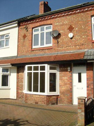 Thumbnail Terraced house to rent in Cross Lane, Wallasey