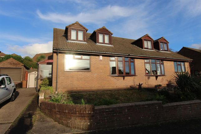 Thumbnail Semi-detached house for sale in Ffordd Eynon Evans, Caerphilly
