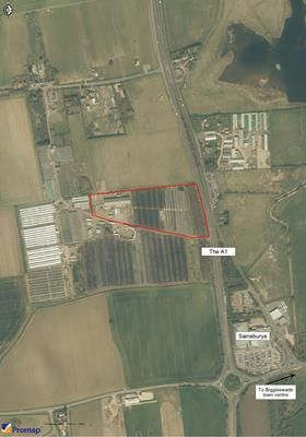 Thumbnail Light industrial to let in Woodlands Nurseries, Biggleswade Road, Upper Caldecote, Biggleswade, Beds