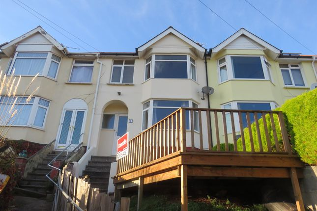 Thumbnail Terraced house for sale in Higher Manor Terrace, Paignton