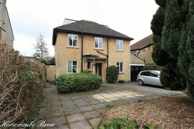 Thumbnail Detached house for sale in Horsecombe Brow, Combe Down, Bath