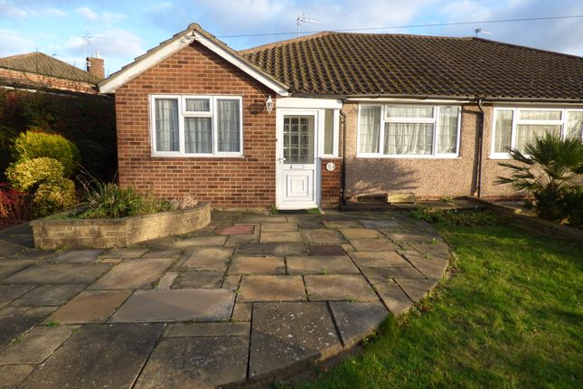 Thumbnail Semi-detached bungalow for sale in Mansfield Avenue, Cockfosters Boarders