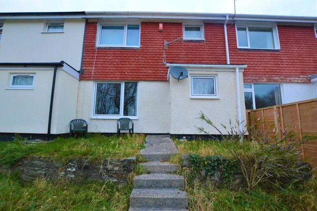 Thumbnail Terraced house to rent in Adams Close, Plymouth, Devon