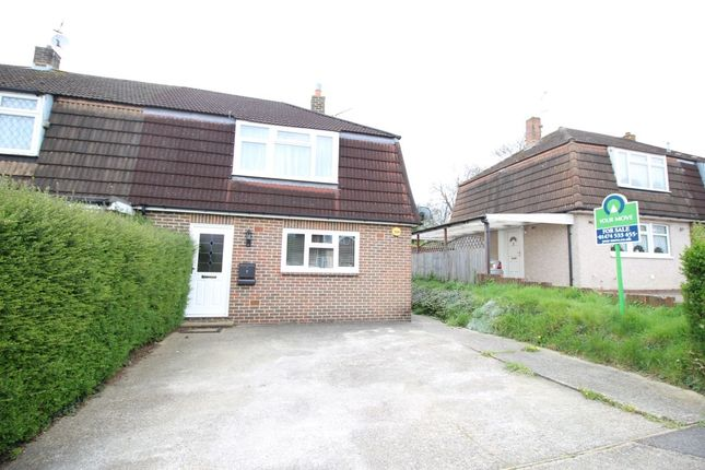 Thumbnail Property for sale in Irvine Road, Higham, Rochester