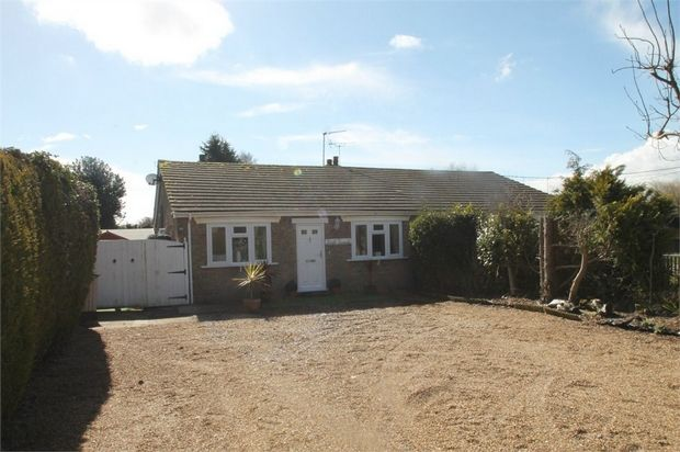 Thumbnail Semi-detached bungalow for sale in Chase Road West, Great Bromley, Colchester, Essex