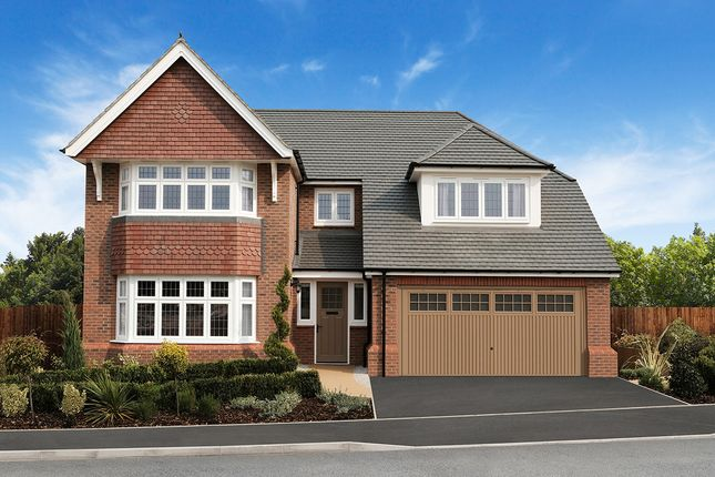 "Thumbnail Detached house for sale in ""Marlborough"" at Chaul End Village, Caddington, Luton"