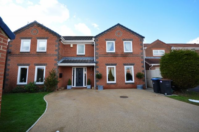Thumbnail Detached house for sale in Denwick Close, Chester Le Street