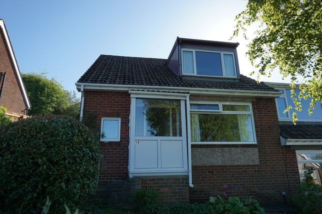 Thumbnail Bungalow for sale in The Rise, Consett