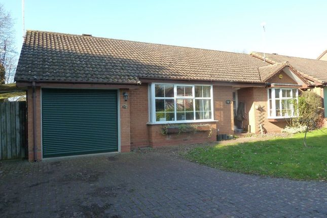 Thumbnail Bungalow to rent in Range Meadow Close, Leamington Spa