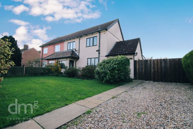 Thumbnail Semi-detached house to rent in London Land Cottages, Wormingford, Colchester
