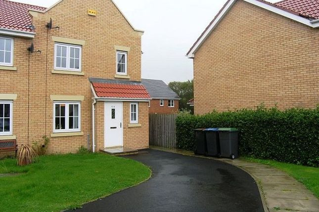 Thumbnail Semi-detached house to rent in Chapel Drive, Consett