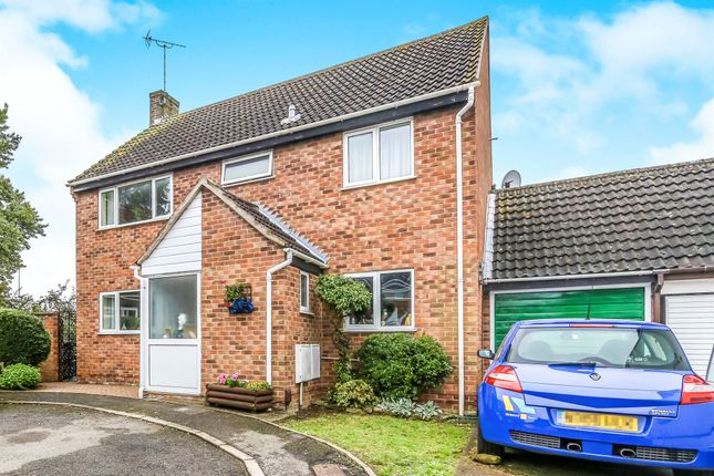 Thumbnail Detached house for sale in Holmes Avenue, Raunds, Wellingborough