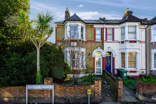 Thumbnail End terrace house for sale in Hawstead Road, London