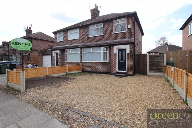 2 bed semi-detached house to rent in Kingsway Park, Urmston, Manchester M41