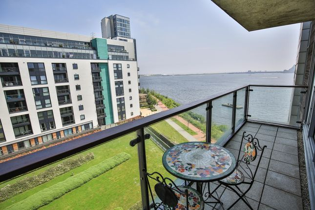 Thumbnail Flat for sale in Ferry Court, Prospect Place, Cardiff Bay, Cardiff