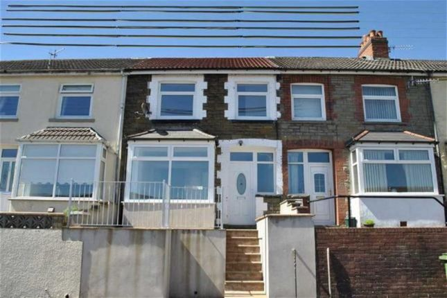 Thumbnail Terraced house for sale in Llancayo Street, Bargoed