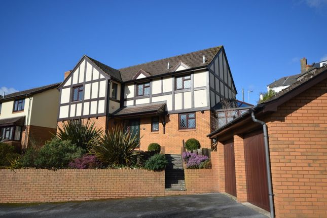 Thumbnail Detached house for sale in Stoneleigh Close, Newton Abbot